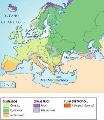 El clima de Europa